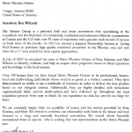 Image of the actual recommendation letter for the Realtors at Metro Phoenix Homes