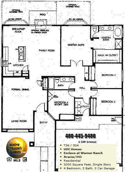 Warner Ranch Tempe Floor Plans Warner Ranch Estates