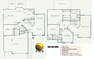 Image of Warner Ranch Tempe floor plans: model Cholla 360