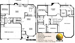 Image of Warner Ranch Tempe floor plans: model Prescott 485