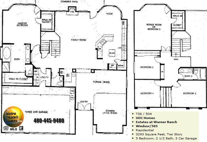 Warner Ranch Tempe Floor Plans Warner Ranch Estates