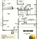 Image of Warner Ranch Tempe floor plans: model 2010