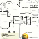 Image of Warner Ranch Tempe floor plans: model  Cypress 435