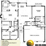 Image of Warner Ranch Tempe floor plans: model Safford 434