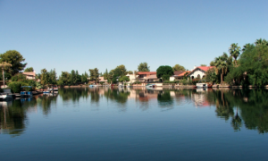 image of lake view for houses for sale in Tempe in The Lakes