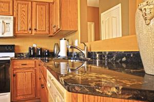 Granite countertops in  3 bedroom 2 bathroom homes for sale in Gilbert AZ
