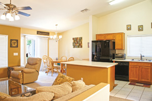 Interior of a 3 bedroom 2 bathroom homes for sale in Surprise AZ