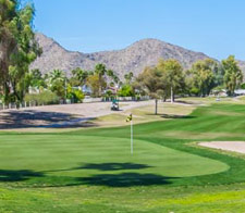 Green at Ahwatukee Golf Course