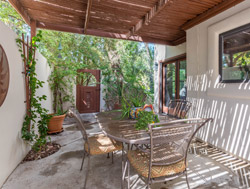 Patio for townhome in Tempe AZ